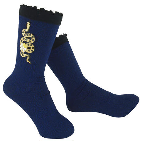 【Socks】Golden snake  Socks   NS217R- 84 (¥2,800 +tax)