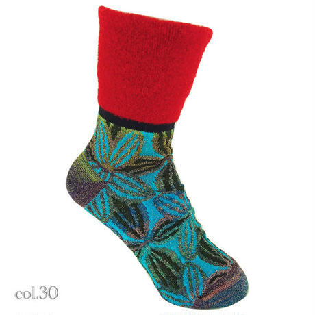 【nonnette】Stunning road  Socks NS202Y- 4color