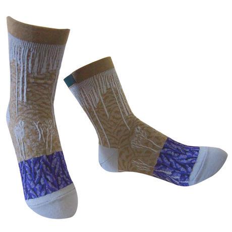 【Socks】 Snow mountain  Socks    NS265Y-90 (¥2,400 +tax)