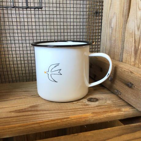 ホーロー サニーマグカップ