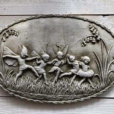 ガーデンプレート すずらんと妖精 Made in England