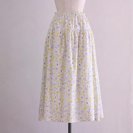 ティアードスカート / white
