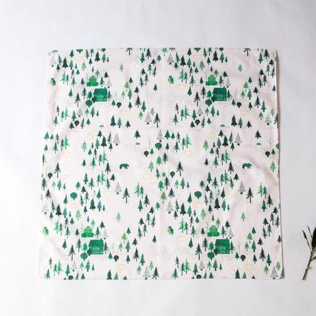 ハンカチブック・おもいでの森(ブックレットとハンカチのセット)