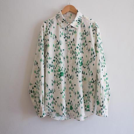 メンズシャツ / おもいでの森