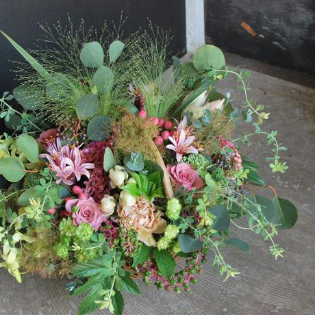 野の花屋 季節のナチュラルフラワーアレンジメント