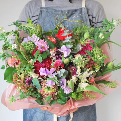 野の花屋 季節のフラワーアレンジメント