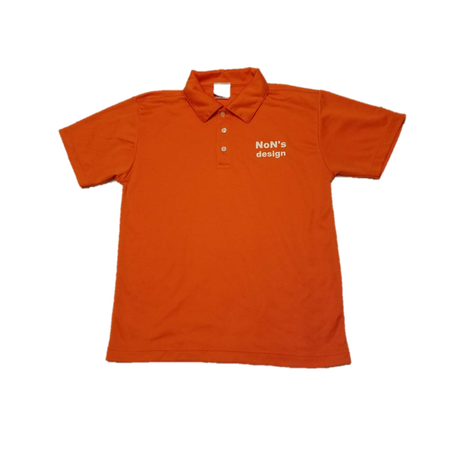 Silky Touch Golf Polo (Orange)