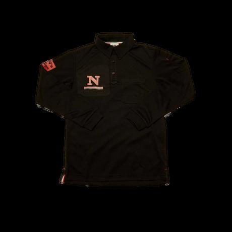 Long Sleeve Golf Polo(Black)