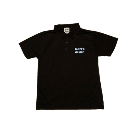 Silky Touch Golf Polo(Black)WH