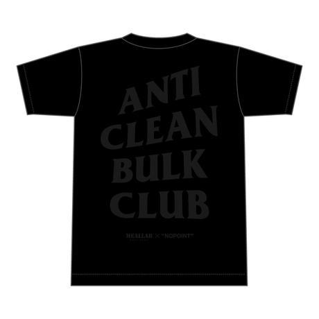 ANTI CLEAN BULK CLUB - black/gray