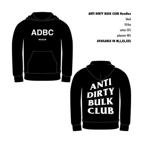 ANTI DIRTY BULK CLUB Hoodies [black]
