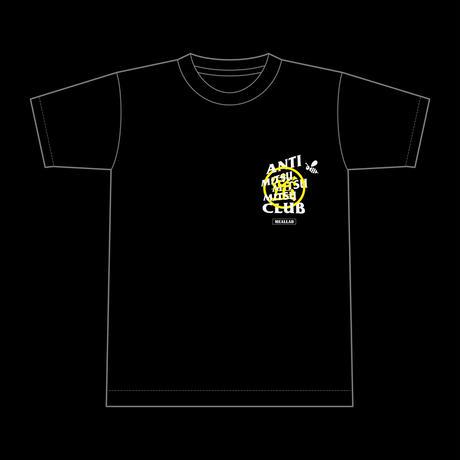 3-MITSU T-Shirts  [12/25 edition] - black/yellow