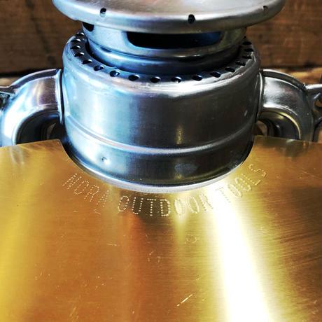 ハリケーンランタン用 野良シェード【真鍮】フュアハンド276・DIETZ78用(写真のランタンは付属しません)