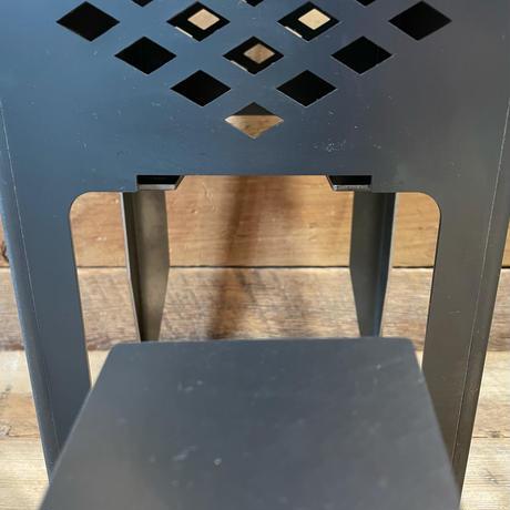 調理も出来るキャンプ用灯籠「焚灯籠 GEN2」 黒皮鉄板使用 日本製