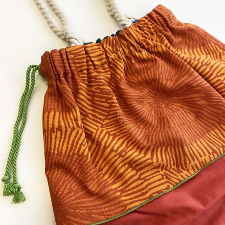 Maskros Orange バッグ Lサイズ