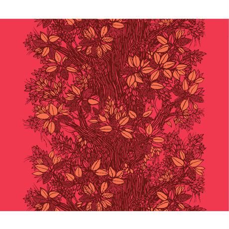 Träd Red クッションカバー (45cm x 45cm)