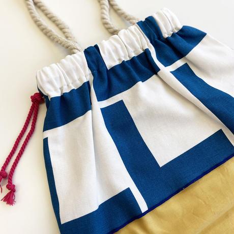 Linie Blue バッグ Lサイズ