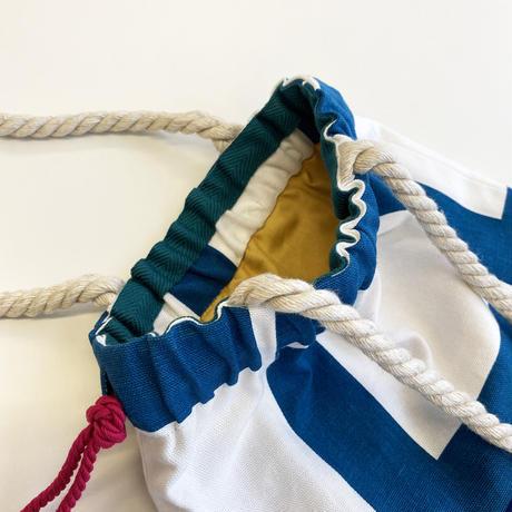 Linie Blue バッグ Sサイズ