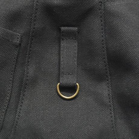 手描き柄プリントミニバッグ / ブラック