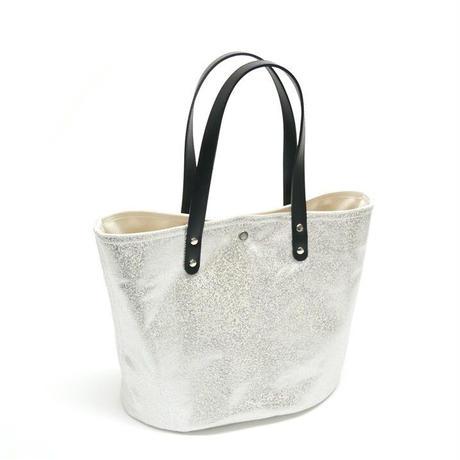 箔プリントトートバッグ / ブラック / Mサイズ(茂木商工コラボ商品)