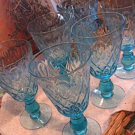 ワイングラス(SEA BLUE)