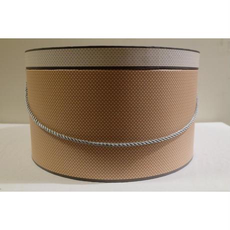 コントワール・ドゥ・ファミーユ  帽子箱 ジゴーニュ  Lサイズ