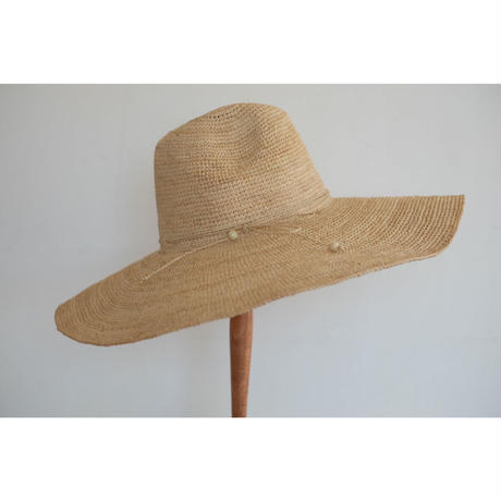 MADE IN MADA  つばの広い帽子 Natural