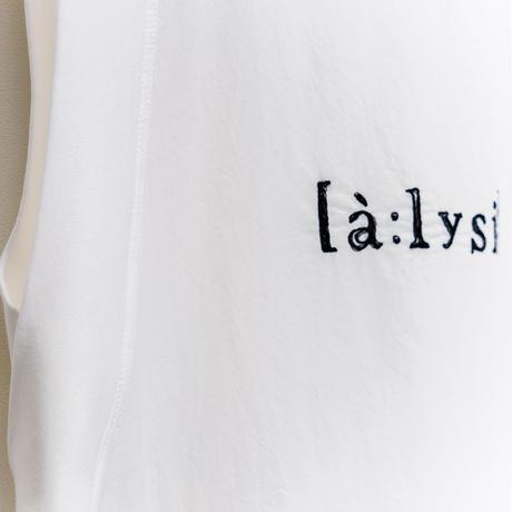 【ALYSI】(11155531)ロゴ入りワンピースNorieM#44 P.120掲載