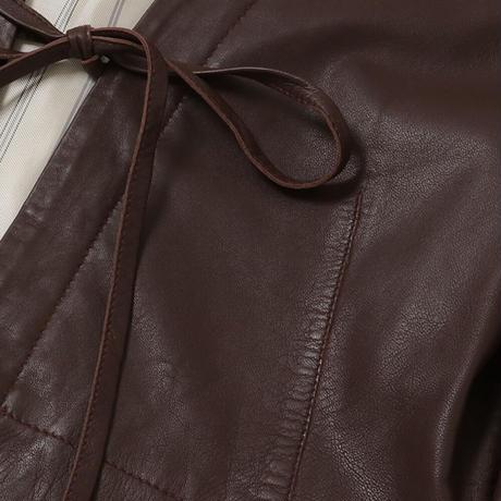 【ALYSI】(11155006)レザージャケット NorieM#43 P.74掲載