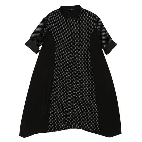 【POINTLIGNE】(11149016)ドット柄ドレス NorieM#43 P.72掲載