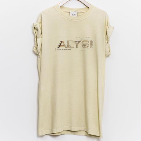 【ALYSI】(11155533)ALYSIロゴ入りTシャツNorieM#44 P.121掲載