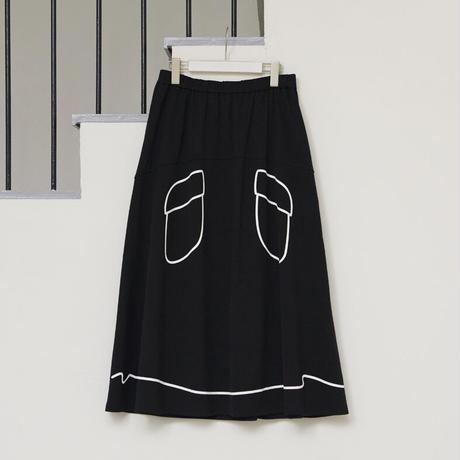 【Manner Mode】慈雨/トロンプイユスカート(11122757)