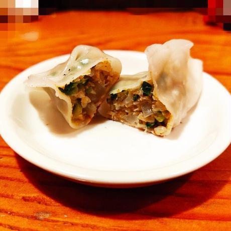 【期間限定販売】カレー風味のゴーヤ餃子 10ケ