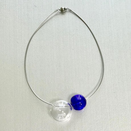 Bonbon Necklace S Cobalt / ボンボンネックレスS コバルト