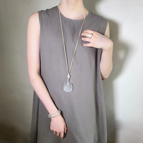 Sea Glass Long Necklace / シーグラスロングネックレス