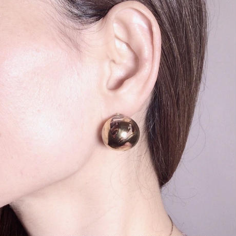 Bonbon Earrings S  Gold / ボンボンイヤリングS ゴールド