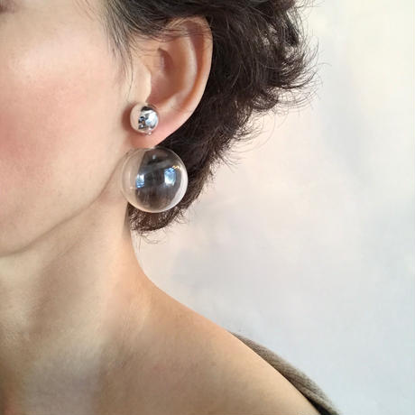 Bonbon Earrings L / ボンボンピアスL