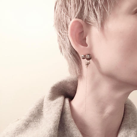 Bubbly Chain Earrings / バブリーチェーンピアス