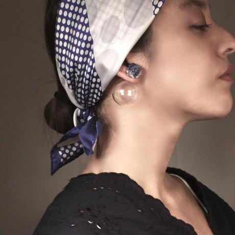 Bonbon Earrings L+ Glass Catch / ボンボンイヤリングL +グラスキャッチ