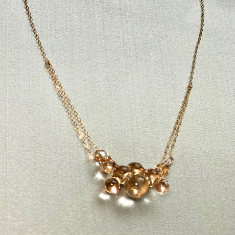 Bubbly Necklace / バブリーネックレス  ゴールド
