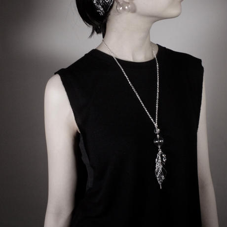 Hane bonbon necklace / ハネボンボンネックレス