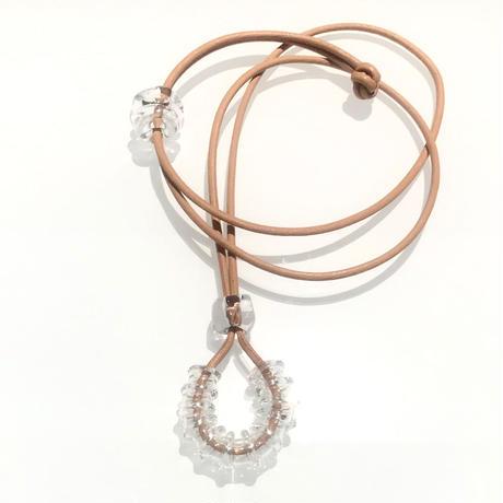 凹凸Tube Necklace / 凹凸チューブネックレス