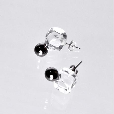 Cube Ball Earrings