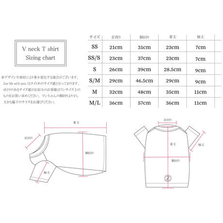 Washable Wool V-neck T-shirt    <M ~ M/L  Size>