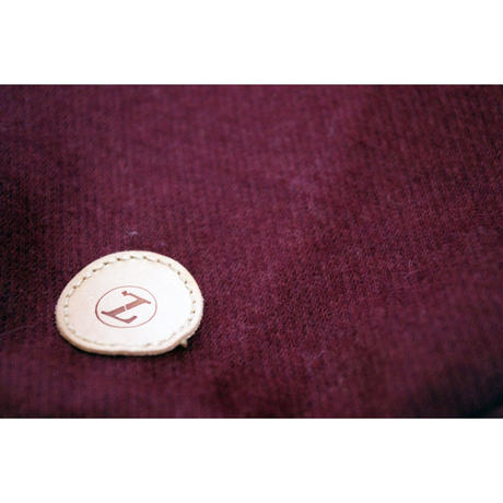 Bordeaux Wool  High Neck Knit Long Sleeve < SS ~ S/M >
