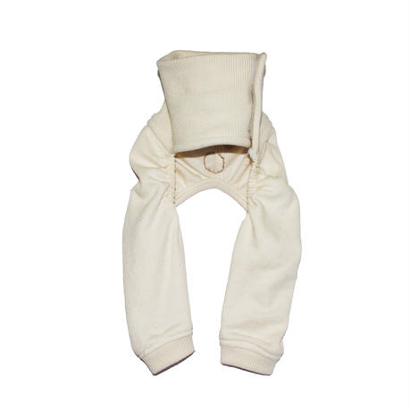 Organic Cotton Rib Pants  M