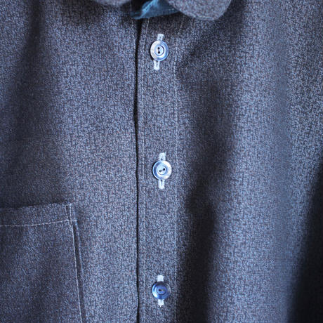Men's casual Only One shirt : dark blue (no.133)
