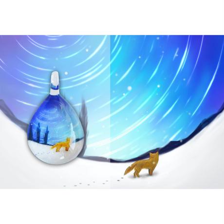 ドロップMサイズ Snow Fox [NDM-B-105]