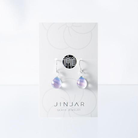 【期間限定】HARAJUKU COTTON CANDYセット ネックレス+ピアス/イヤリングSサイズ  <JINJAR GLASS JEWELRY>