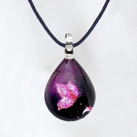 【母の月ギフト】 Purple Butterfly & タオルハンカチ セット